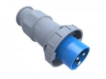 Wtyczka przemysłowa - przenośna 32A 3p 220V-250V IP67 /FE/