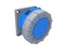 Gniazdo przemysłowe  tablicowe proste 16A 3p /FE/ IP67