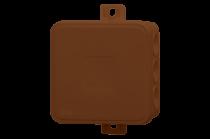 Puszka hermetyczna V6, termoplast 85x85x41 IP54, brązowa - klik